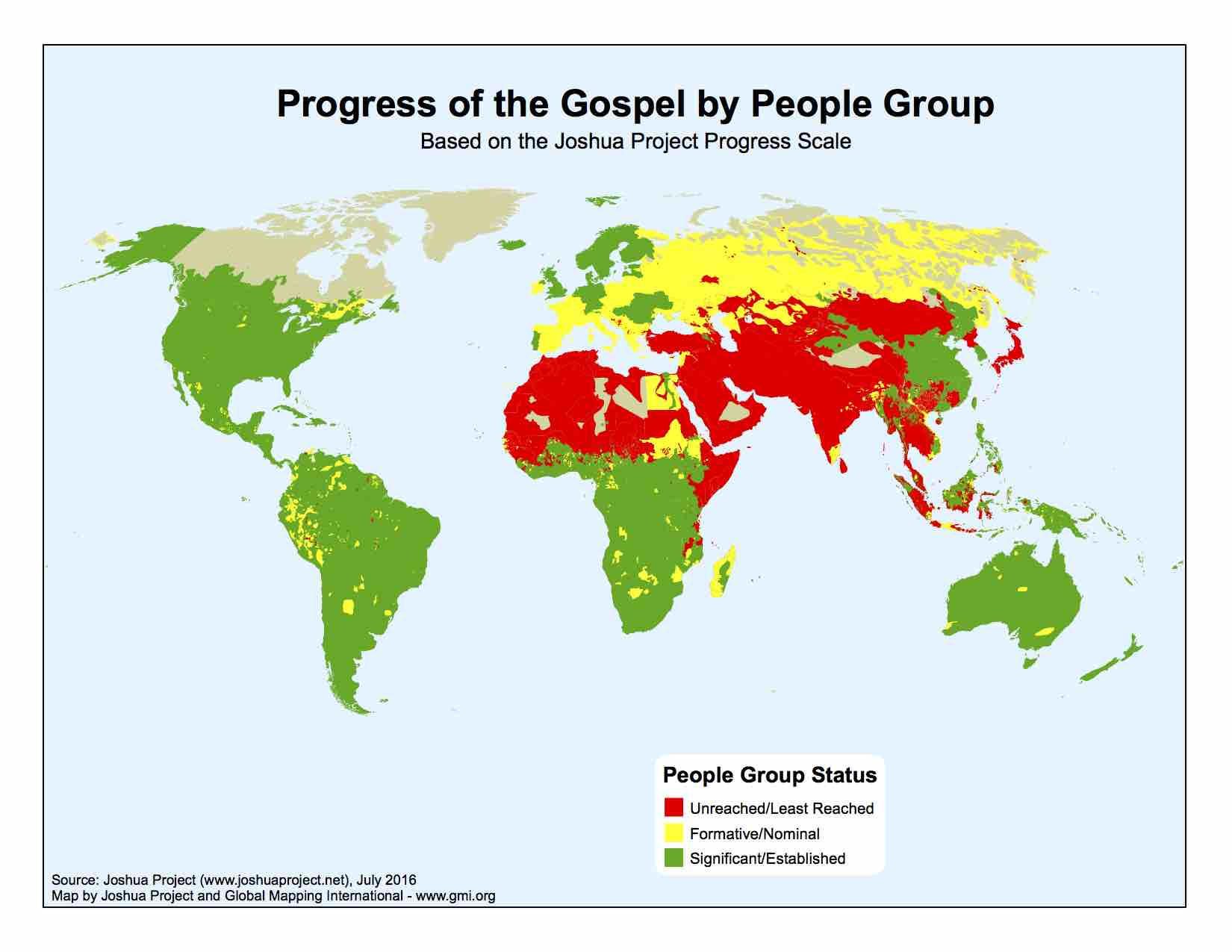 What the Big Deal About Unreached People Groups?